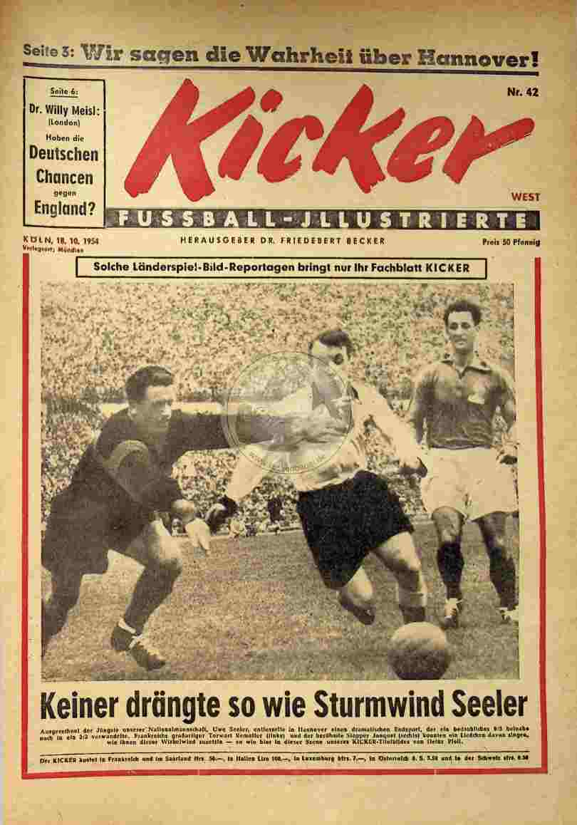 1954 Oktober 18. Kicker Nr.42