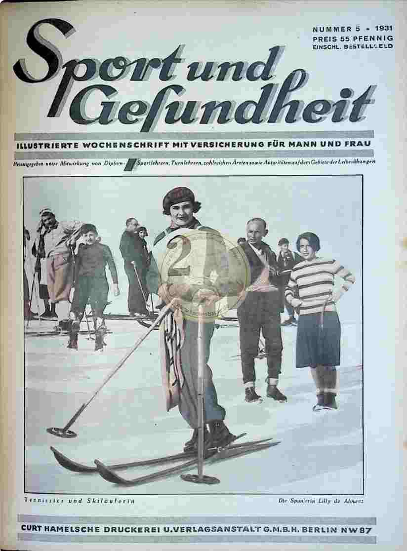 1931 Sport und Gesundheit Nr.5