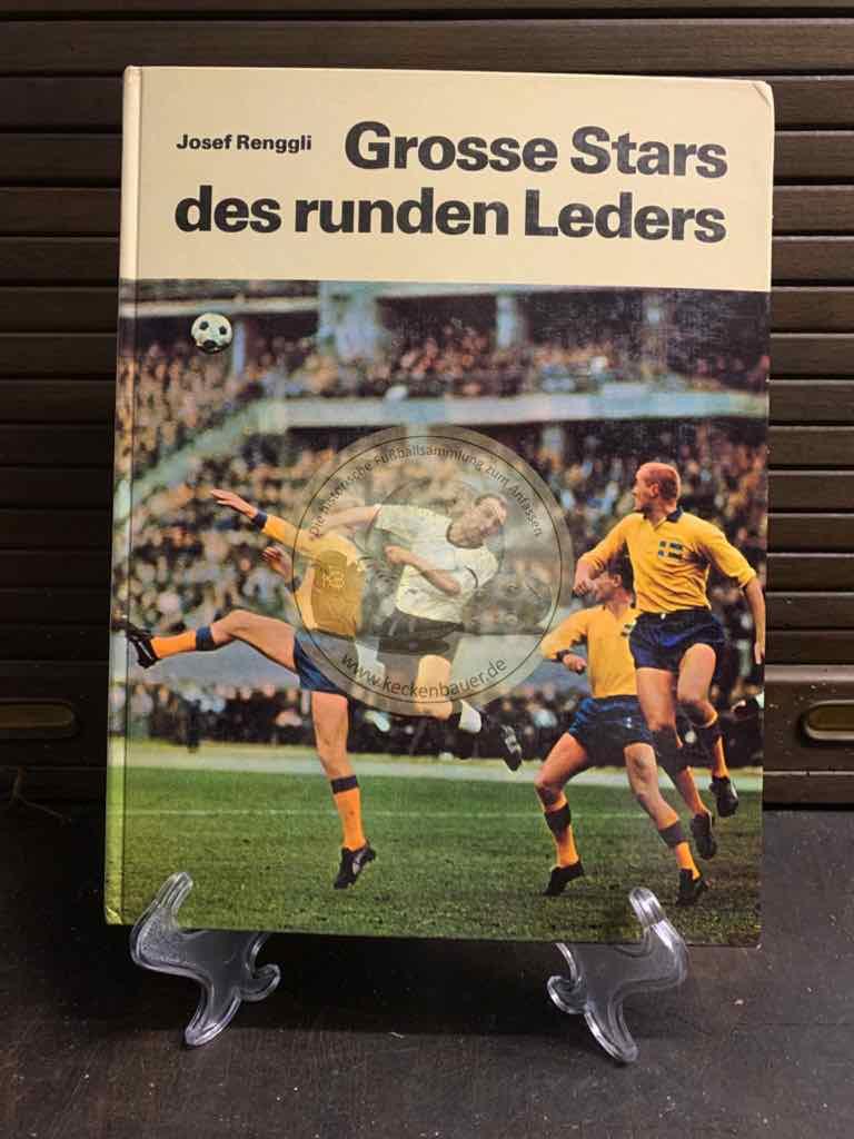 Große Stars des runden Leders im Spreitenbach Verlag im Jahre 1971