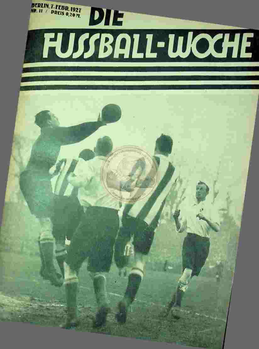 1929 Februar 7. Die Fussball-Woche Nr.11