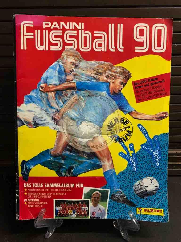 Panini Fussball Album 90