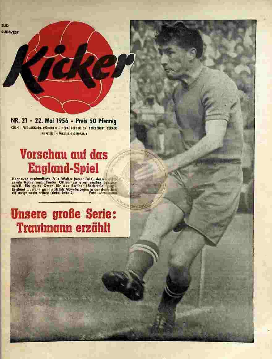 1956 Mai 22. Kicker Nr. 21