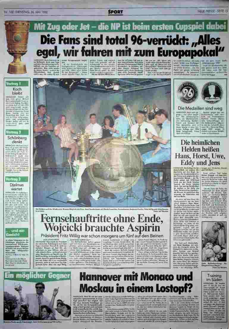 1992 Mai 26. Neue Presse (Auszug)