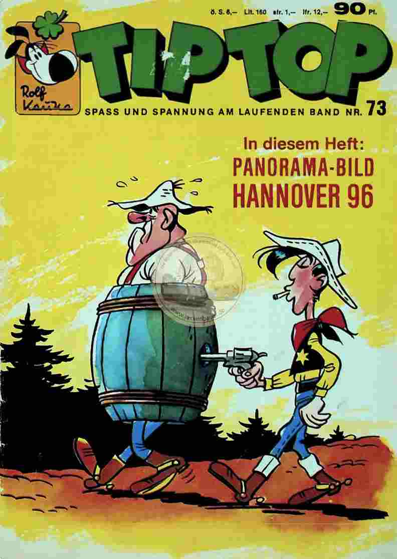1967 TIP TOP Nr. 73 (Hannover96) Comic
