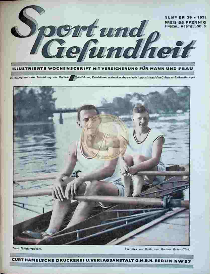 1931 Sport und Gesundheit Nr.39
