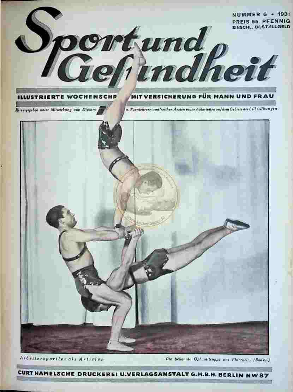 1931 Sport und Gesundheit Nr.6
