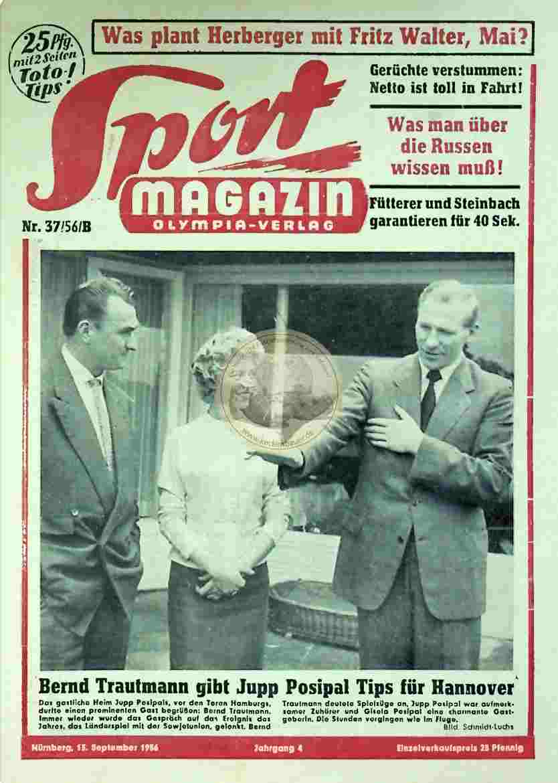 1956 September 13. Sport Magazin Nr. 37