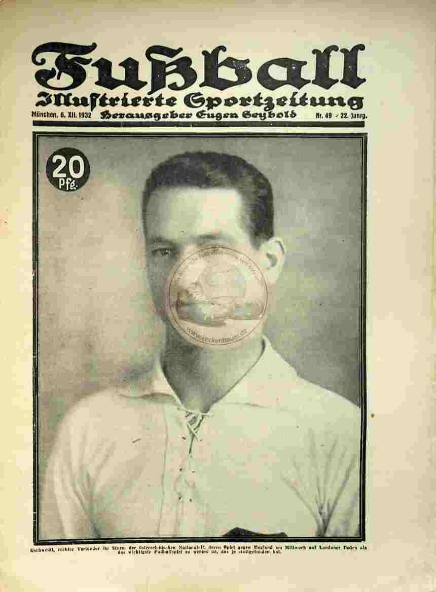 1932 Dezember 6. Fußball Nr.49