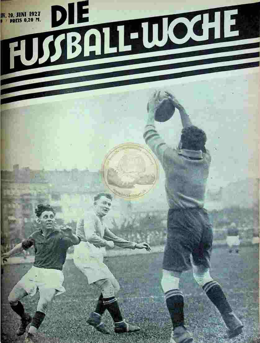 1927 Juni 20. Fussball-Woche Nr. 49