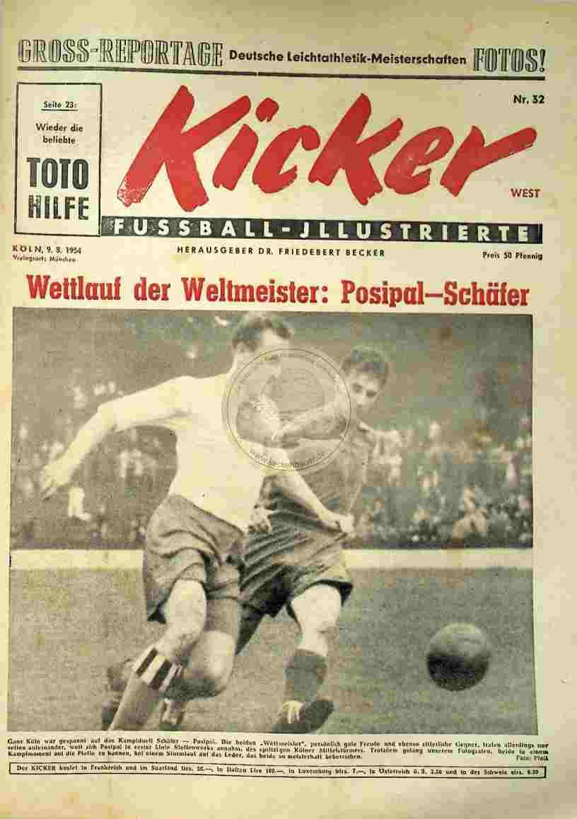 1954 August 9. Kicker Nr.32