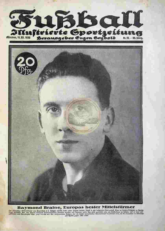 1930 Dezember 16. Fußball Nr. 50