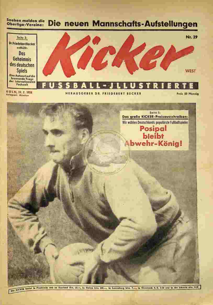1954 Juli 19. Kicker Nr.29 West