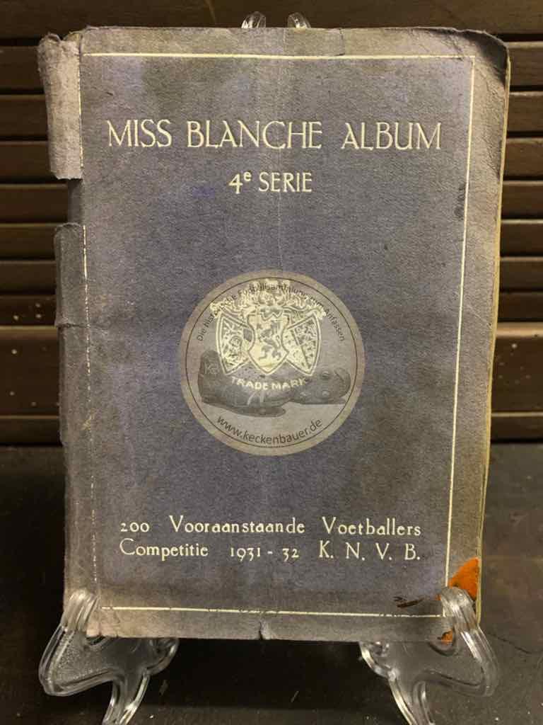 Sammelalbum Miss Blanche Pocket - Komplettes Album aus dem Jahr 1931/1932