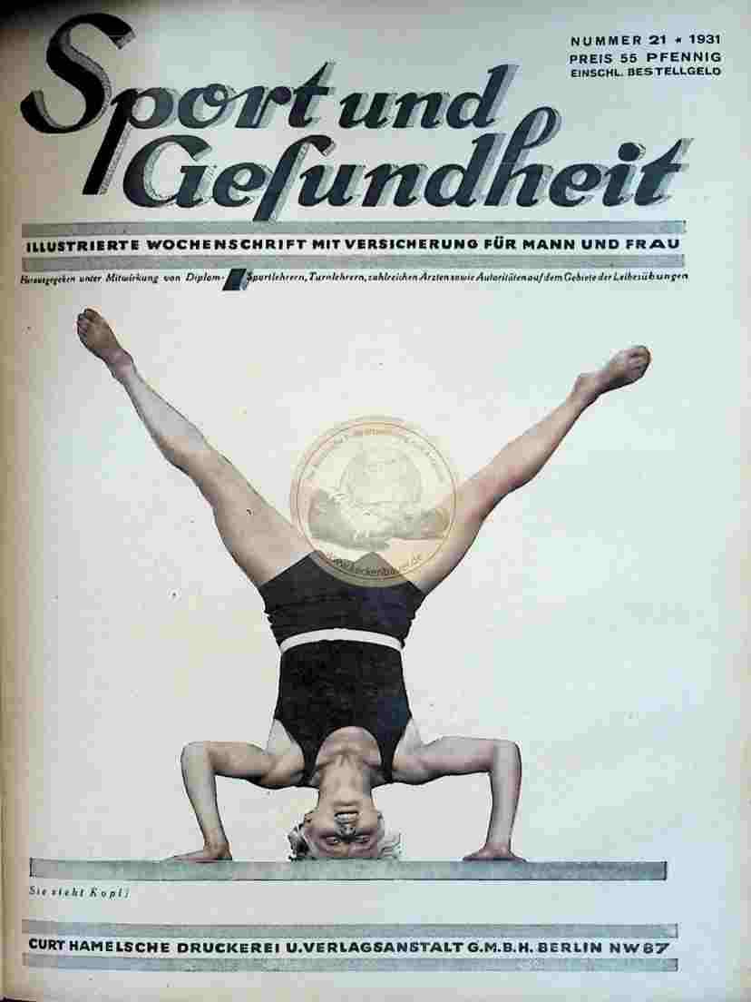 1931 Sport und Gesundheit Nr.21