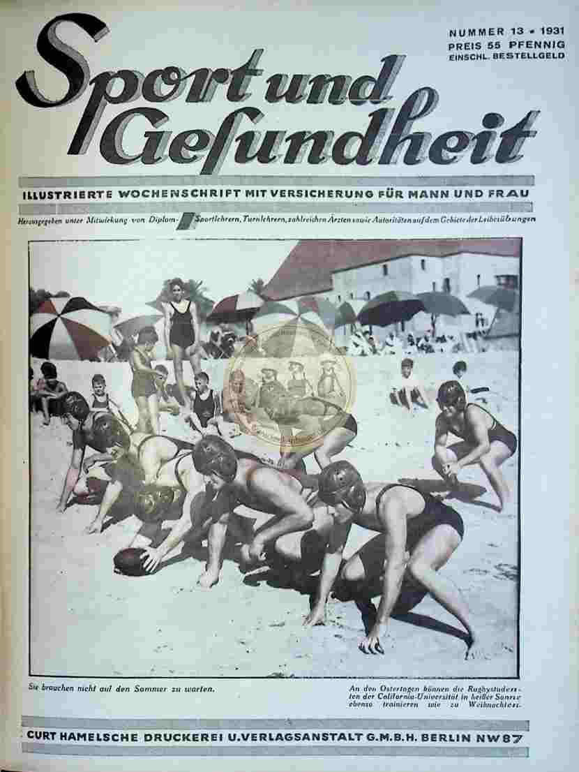 1931 Sport und Gesundheit Nr.13