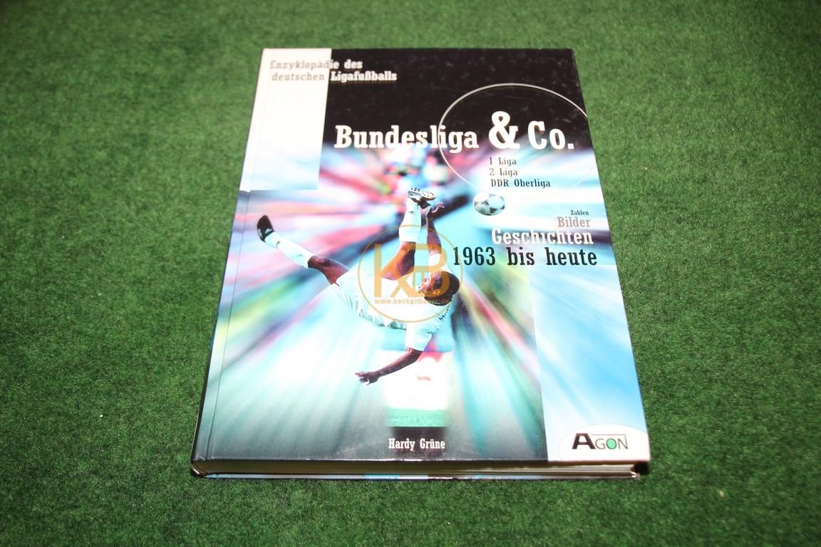 Bundesliga & Co Geschichten von 1963 bis heute vom Agon Verlag.