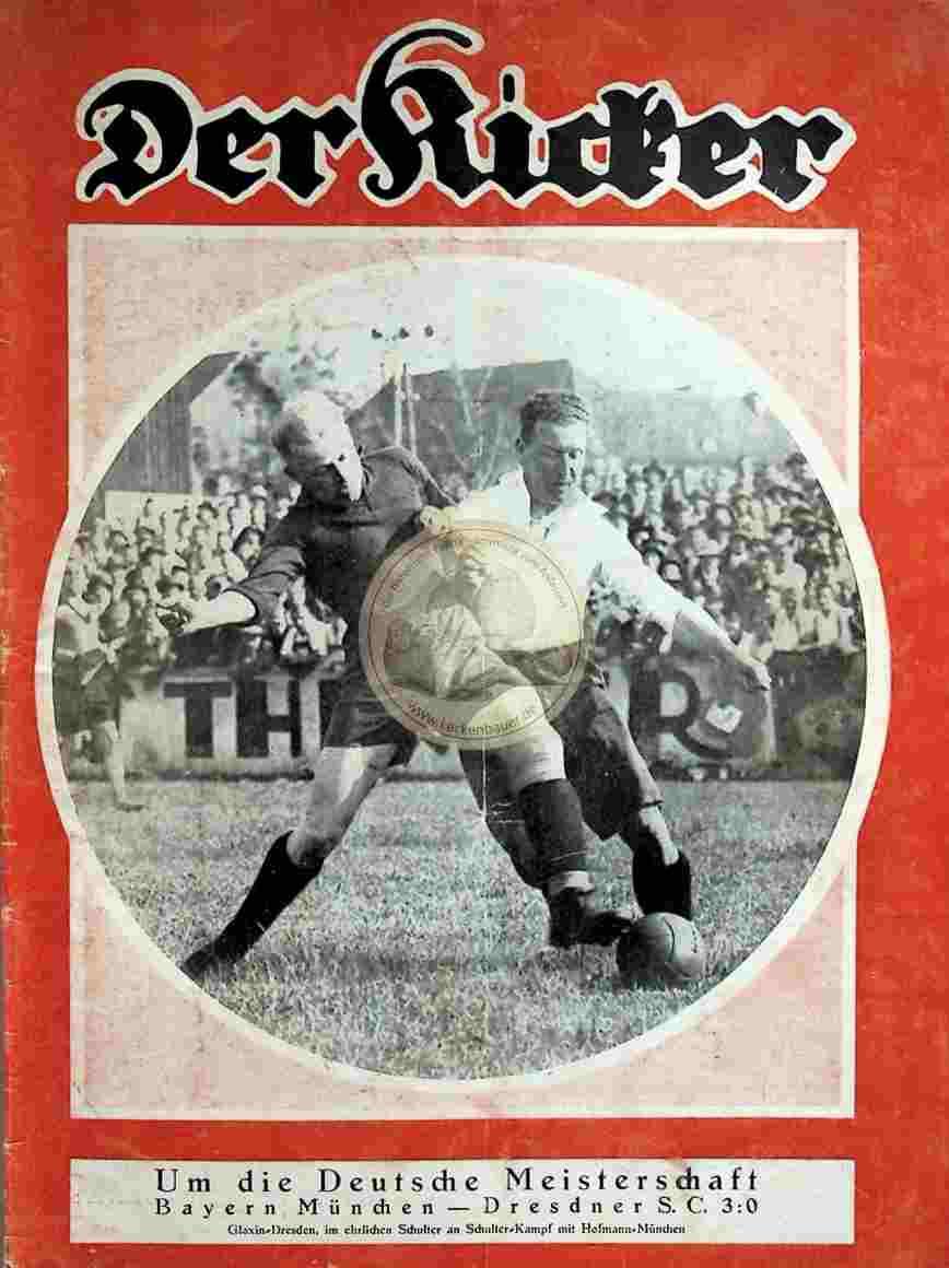 1929 Juni 18. Kicker Nr. 25