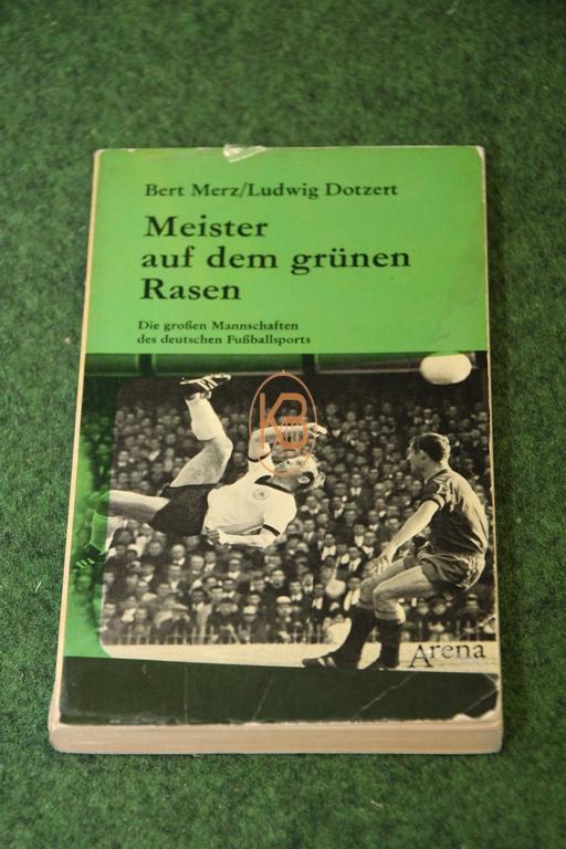 Buch Meister auf dem grünen Rasen von Bert Merz und Ludwig Dotzert