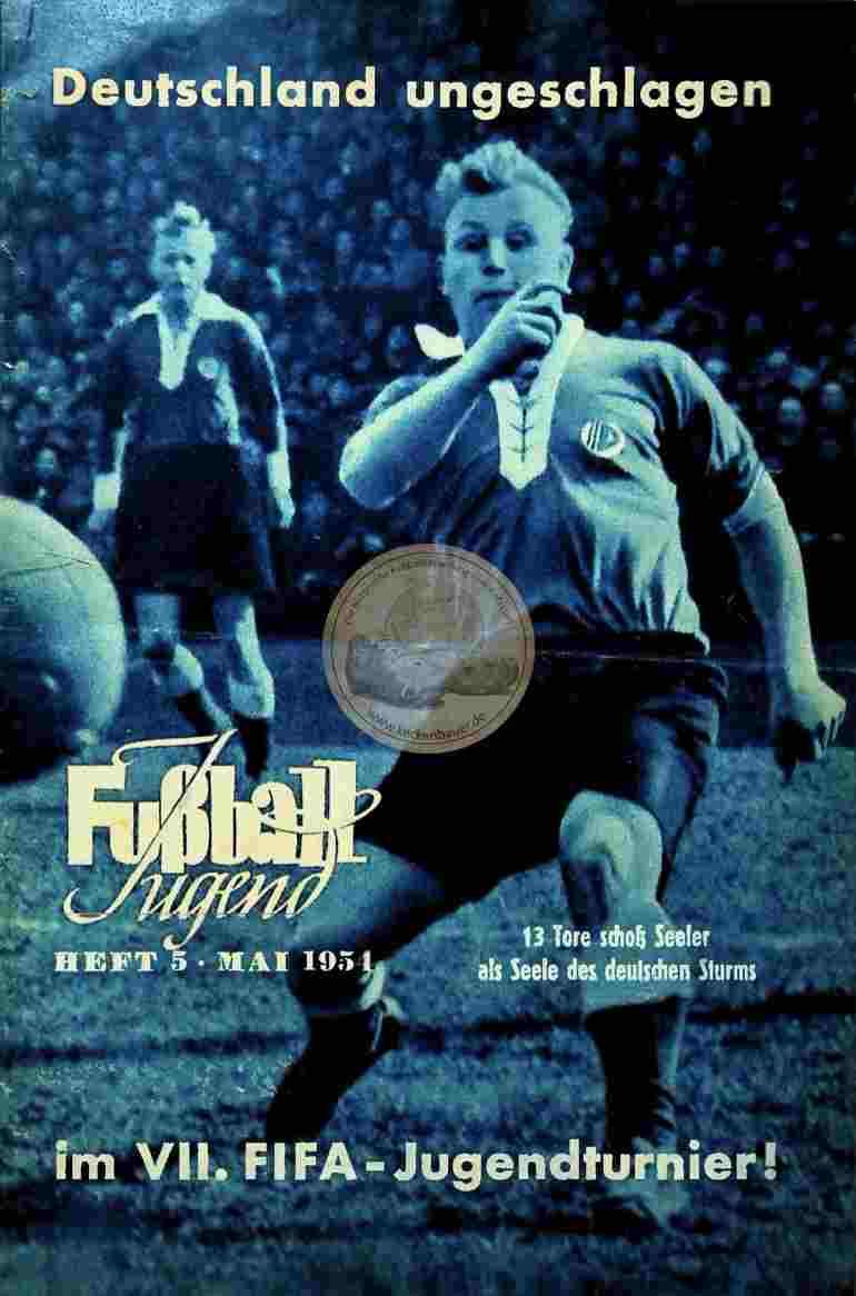 1954 Mai Fußball Jugend