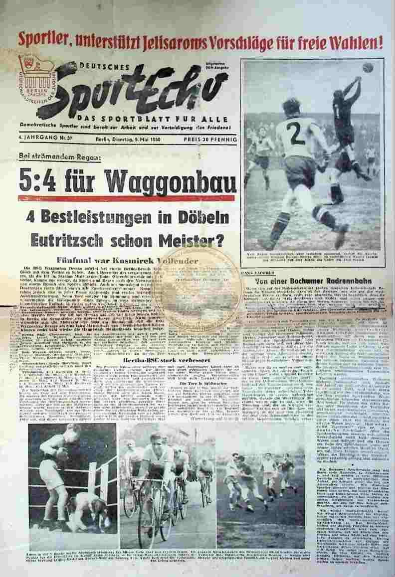 1959 Mai 9. Sportecho Nr. 37