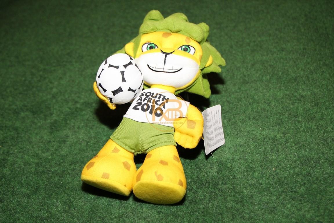 Zakumi von der WM 2010 in Südafrika.