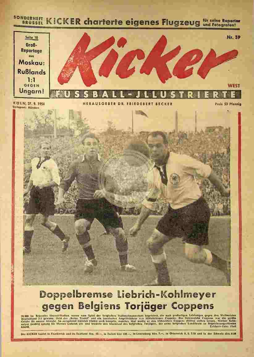 1954 September 27. Kicker Nr.39