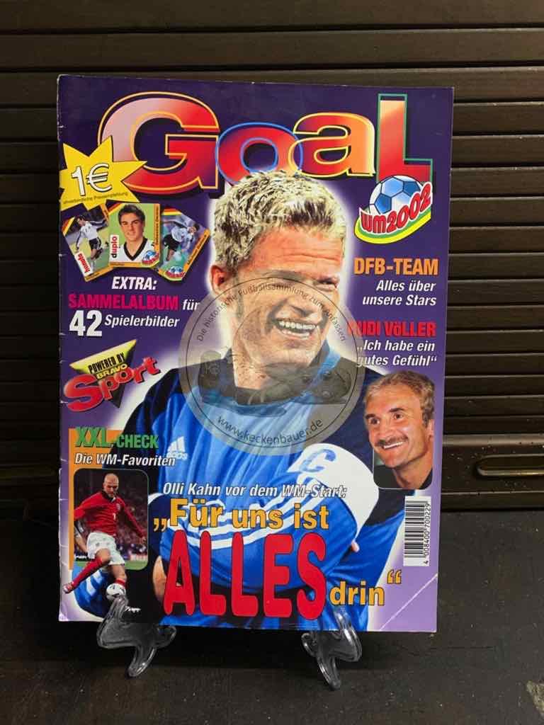 Goal Sammelheft von der WM 2002