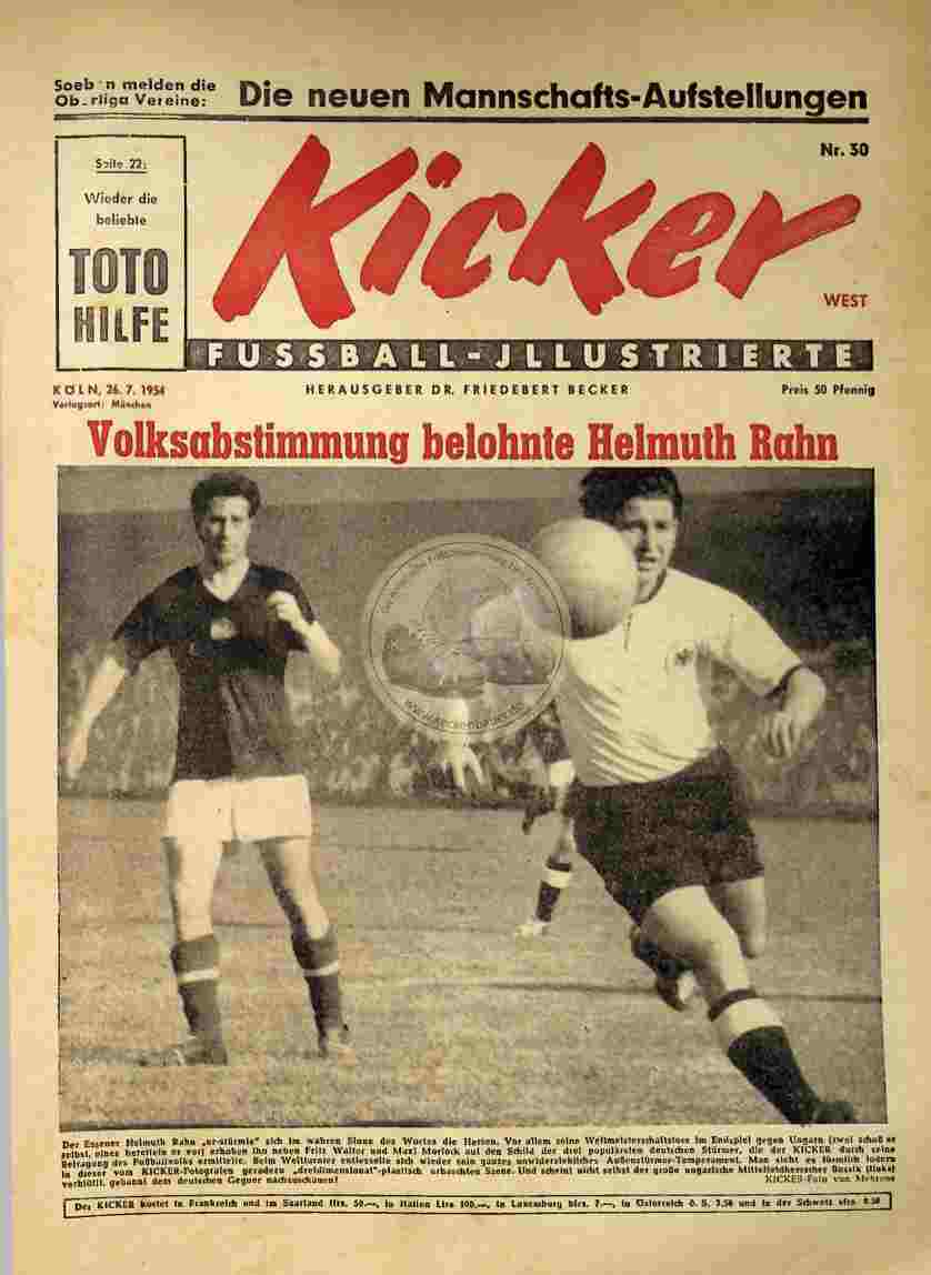 1954 Juli 26. Kicker Nr.30 West