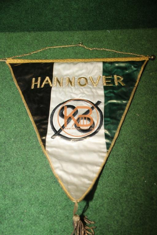 Originaler Spielerwimpel von Hannover 96 aus der Saison 1964/65 1/2