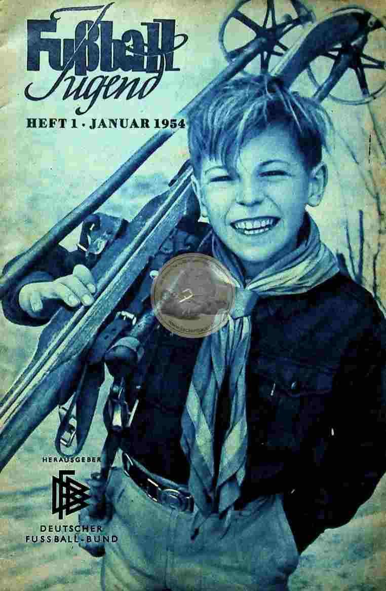 1954 Januar Fußball Jugend