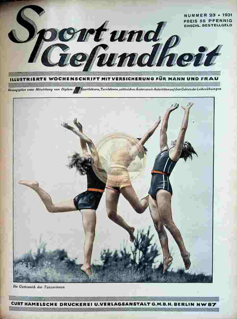 1931 Sport und Gesundheit Nr.23