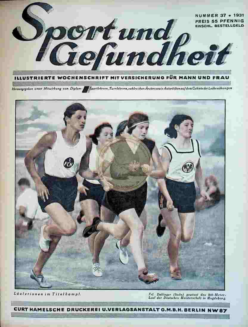 1931 Sport und Gesundheit Nr.37