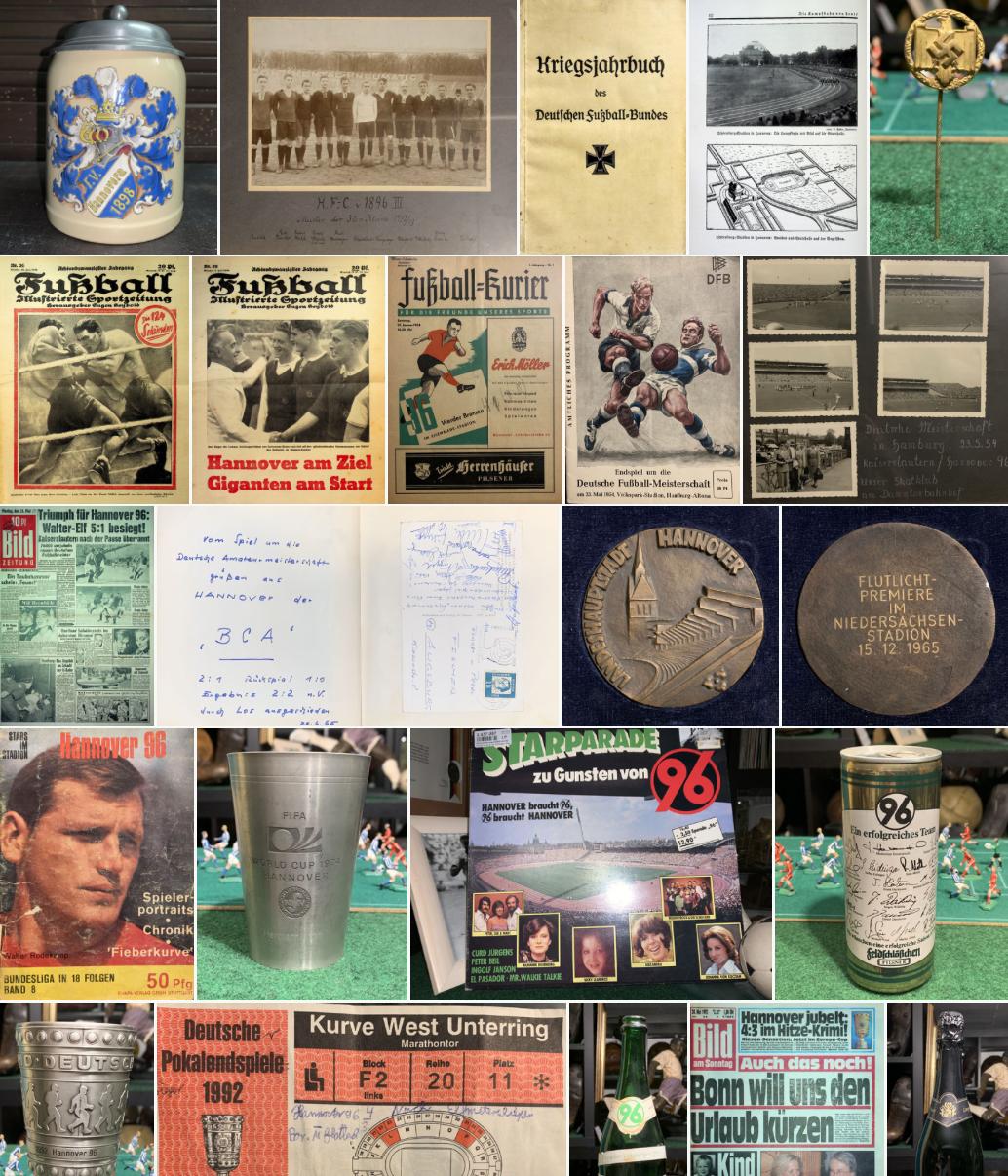125 Jahre Hannover 96 ein kleiner Rückblick mit Exponaten