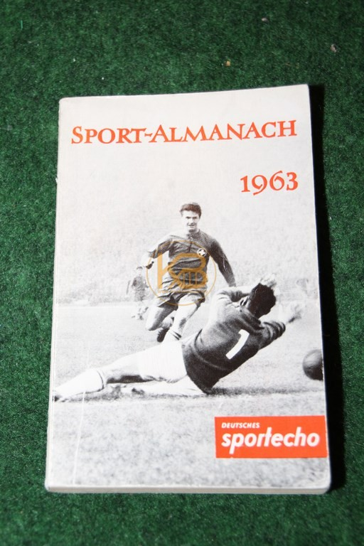 Sport Almanach 1963 vom Deutschen Sportecho