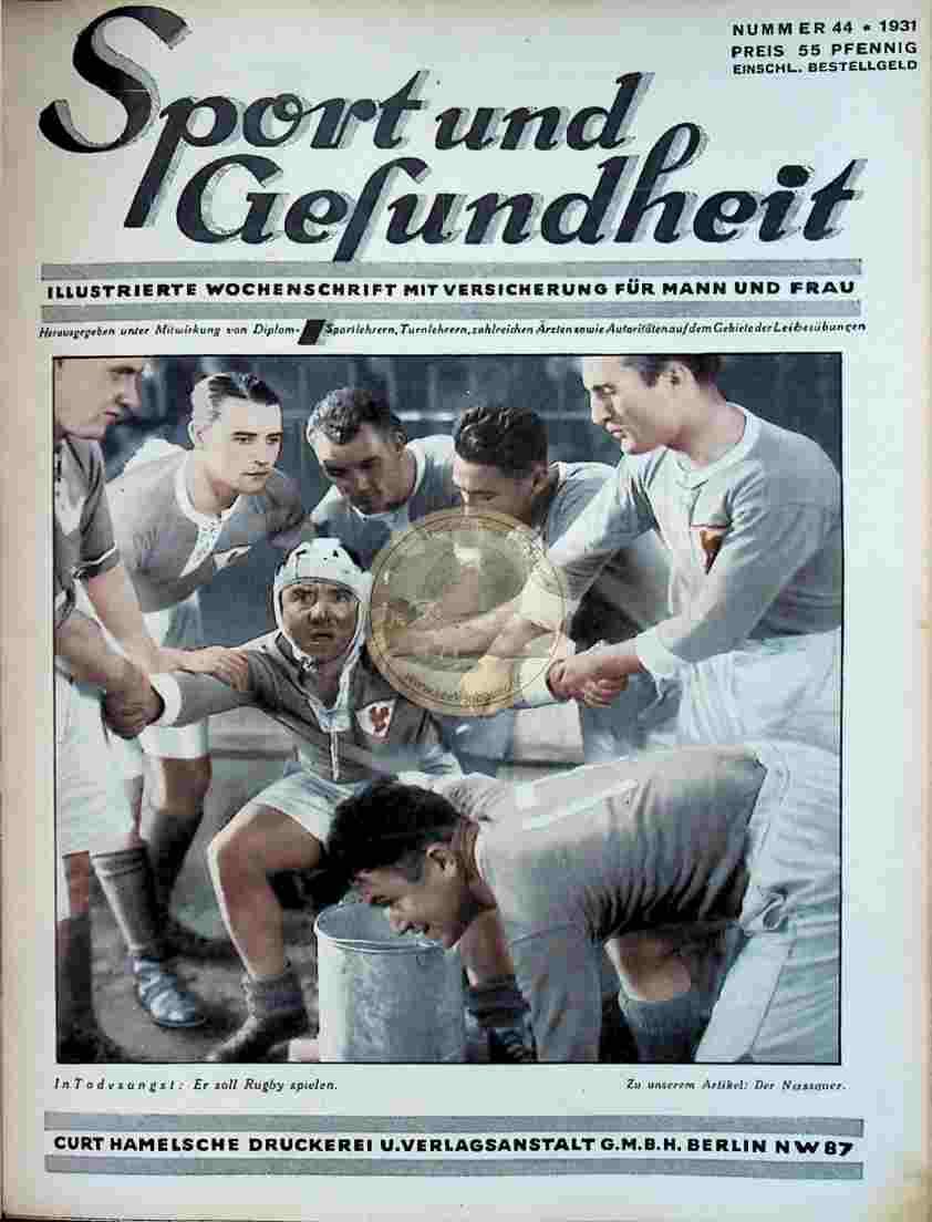 1931 Sport und Gesundheit Nr.44