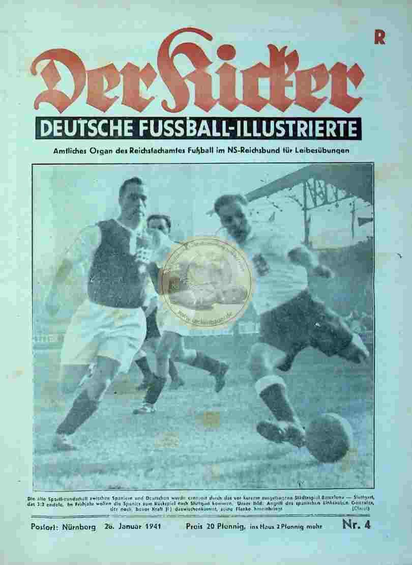 1941 Januar 28. Der Kicker Nr.4