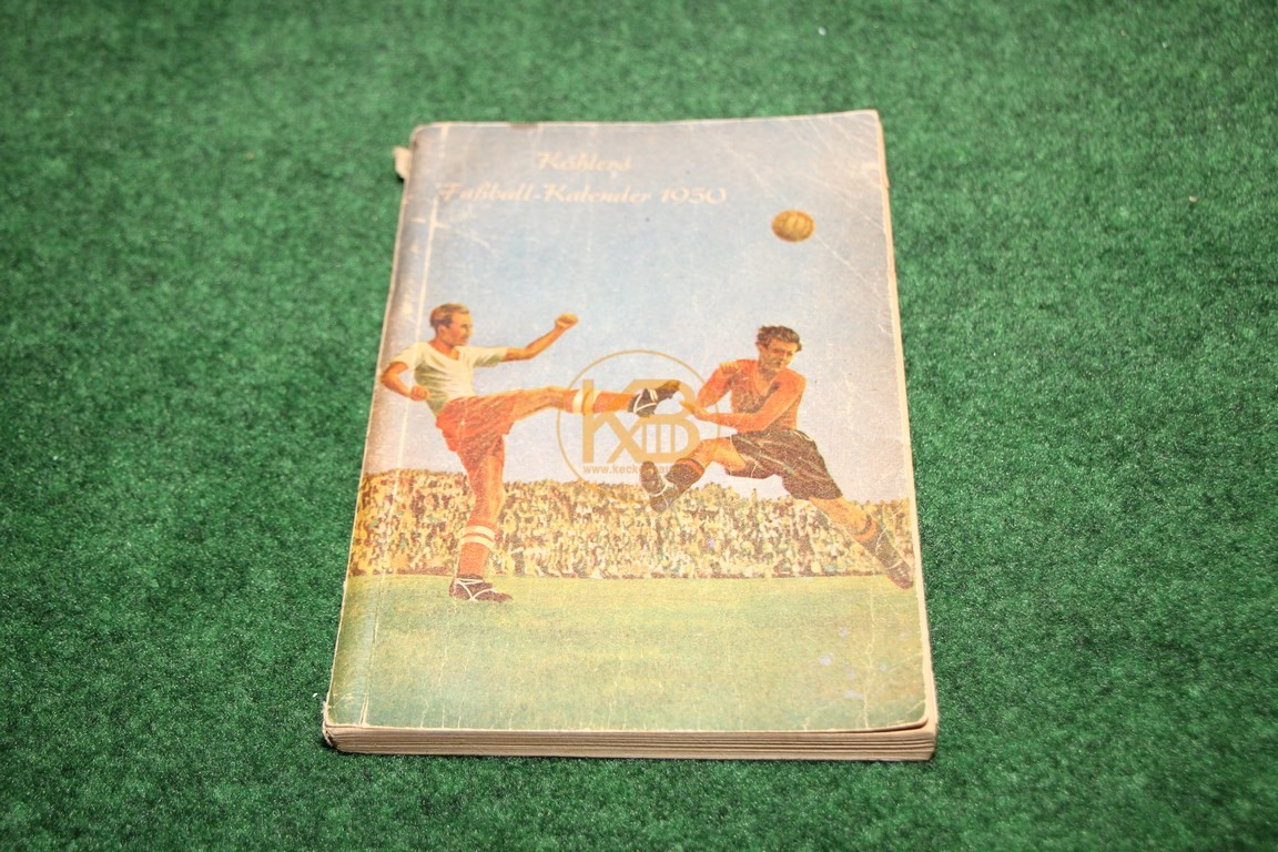 Köhlers Fußball Kalender 1950