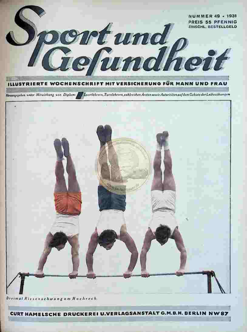 1931 Sport und Gesundheit Nr.49