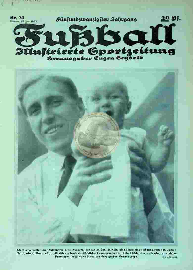 1935 Juni 12. Fußball Nr. 24