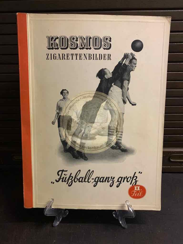 Sammelalbum Kosmos Sammelbilder Fußball ganz groß Teil II 1951 – 1952.