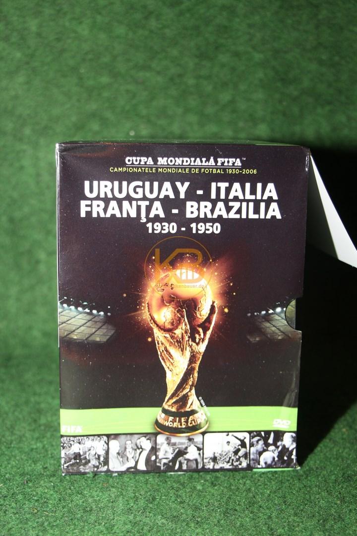 FIFA Fußball-WM DVD-Sammlung 1930-2006 - 15 DVDs in Englisch. 1/2