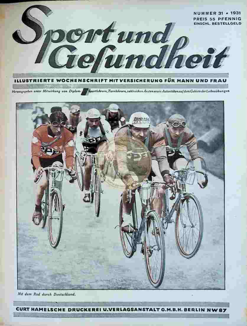 1931 Sport und Gesundheit Nr.31