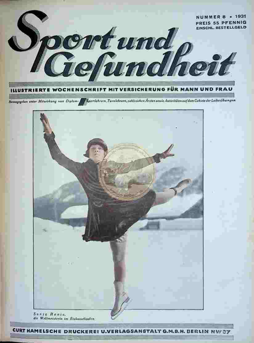1931 Sport und Gesundheit Nr.8
