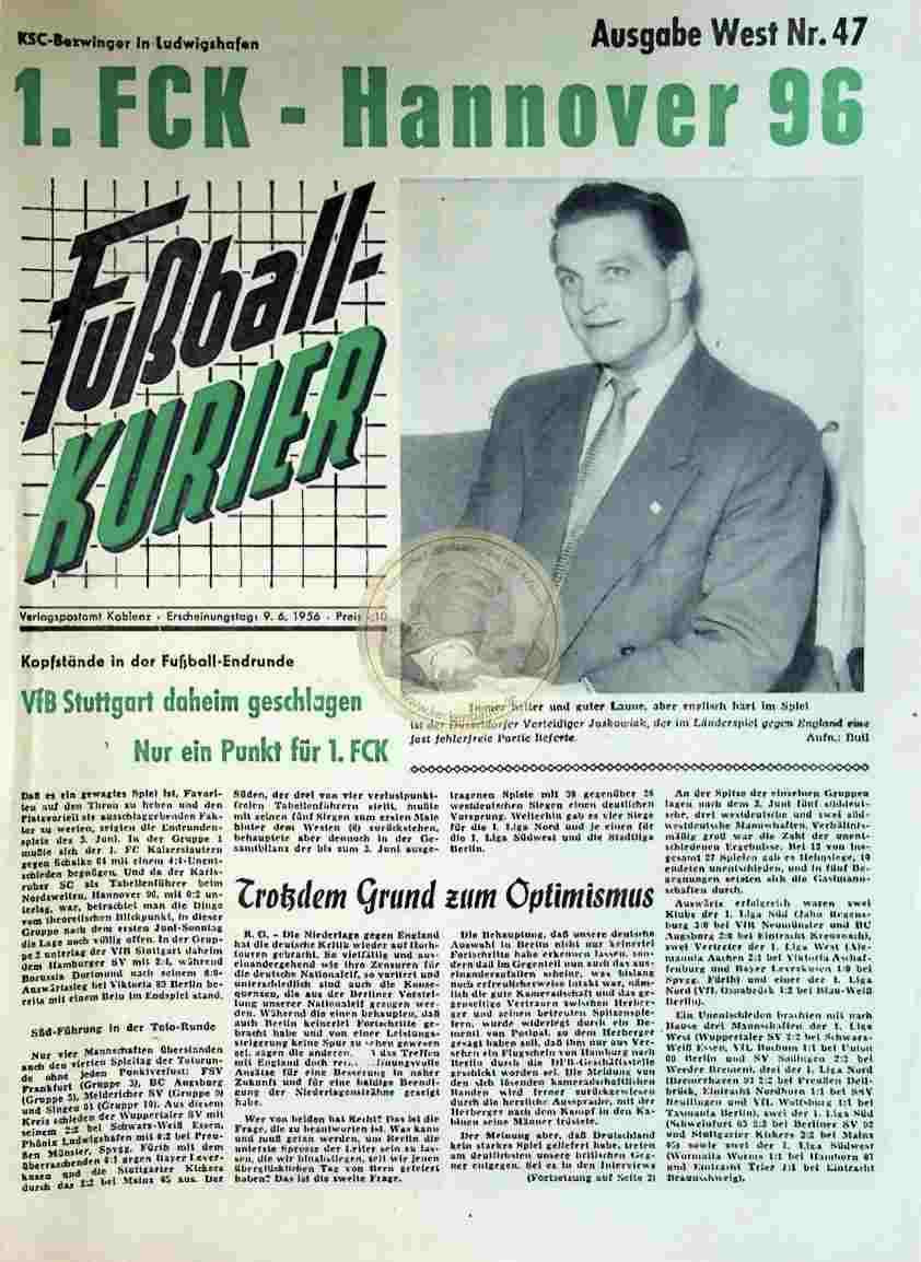 1956 Juni 9. Sportkurier Nr. 47