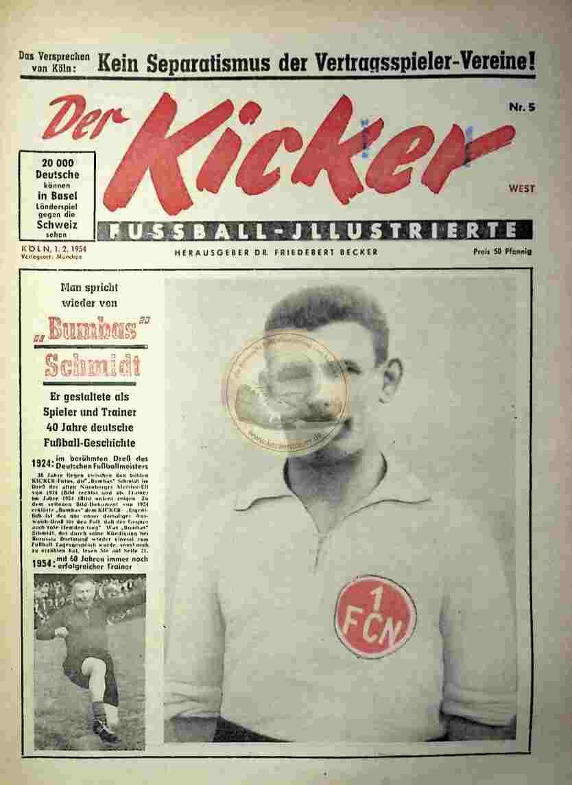1954 Februar 1. Kicker Nr.5