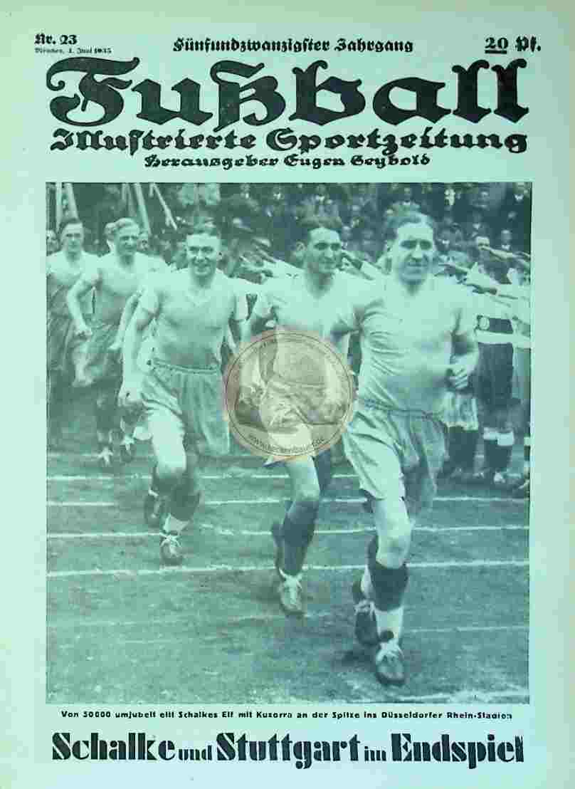 1935 Juni 4. Fußball Nr.23