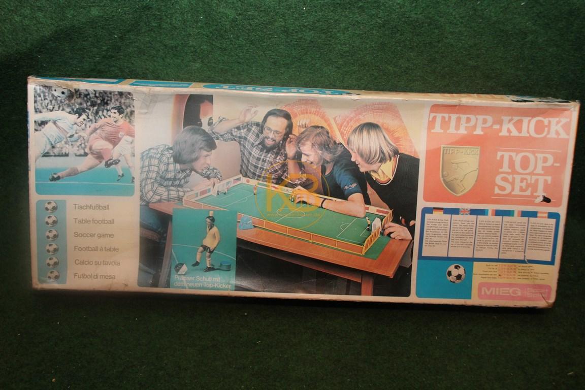 Tipp-Kick Top Set von MIEG aus den 1980ern.