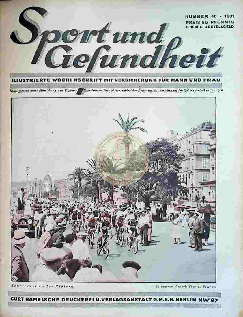 1931 Sport und Gesundheit Nr.40