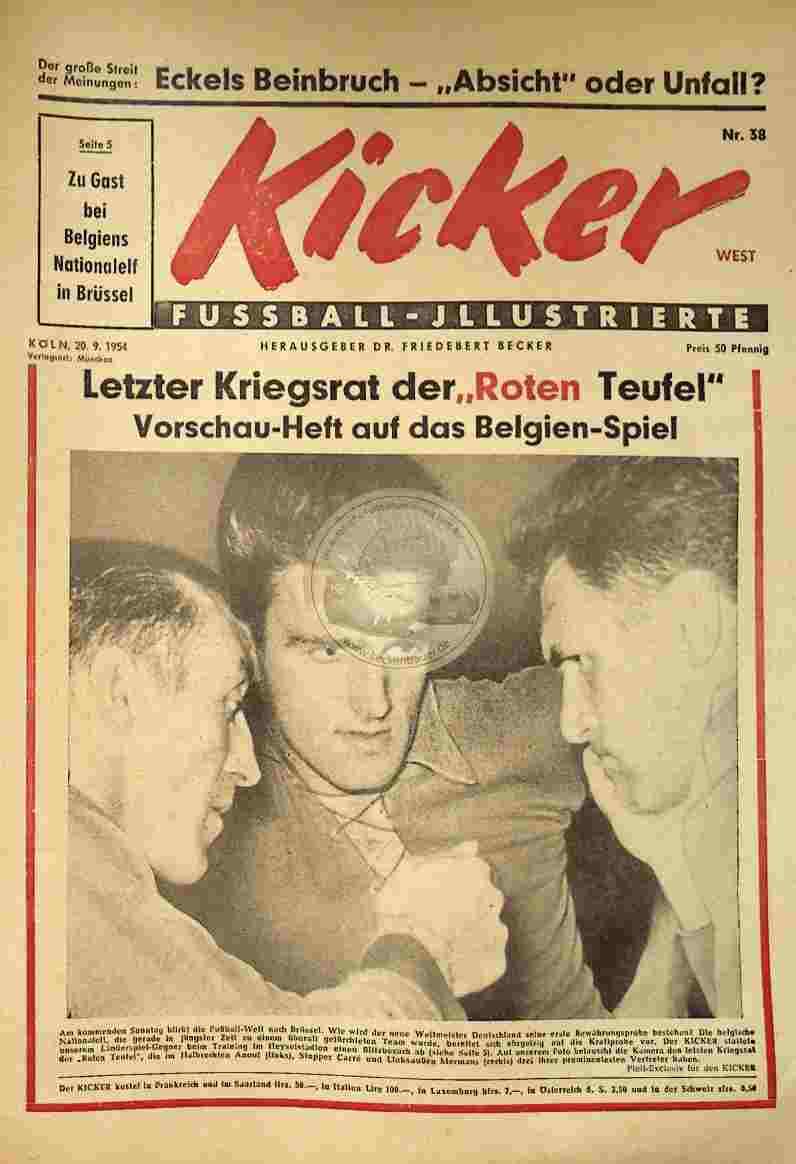 1954 September 20. Kicker Nr.38