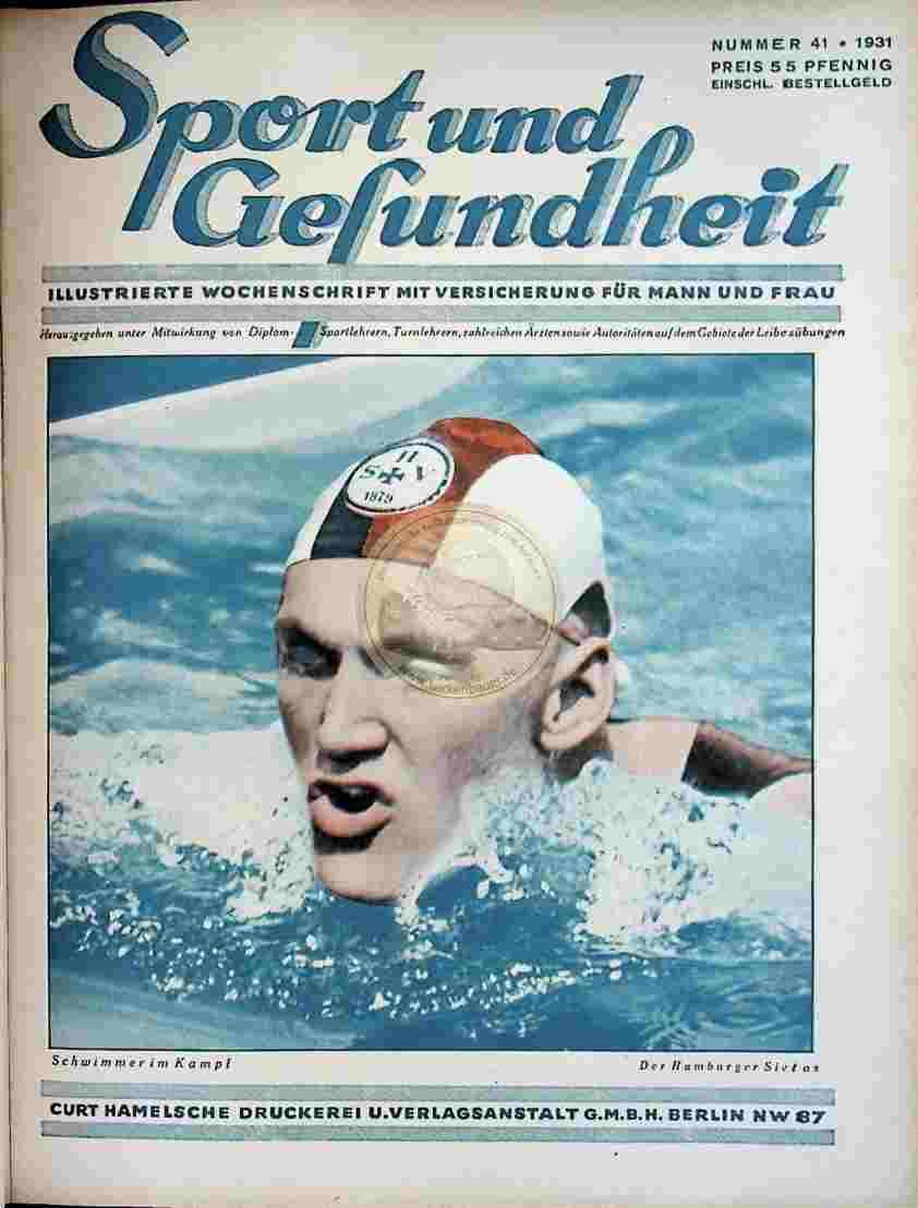 1931 Sport und Gesundheit Nr.41